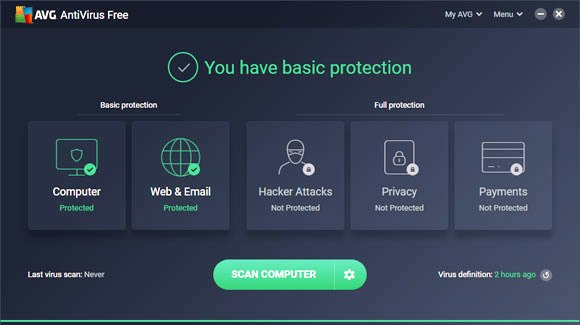AVG Free Standalone Installer Download